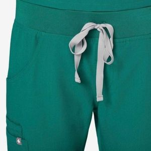 Figs Hunter Green XXL scrub pants